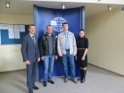 Representatives of JSC Gazprom Neftekhim Salavat visited the company's Kaunas Office
